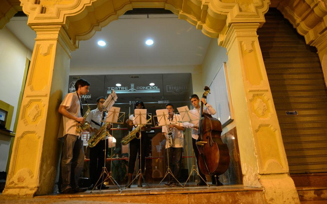 Audició saxos de música de cambra